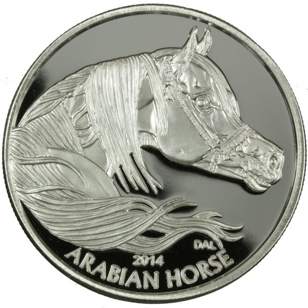 Arabian Horse - Obverse 1 toz